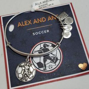 Alex and Ani Soccer ⚽️ Player bracelet